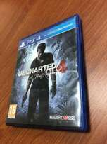 UNCHARTED 4 reg 2 excellent condition