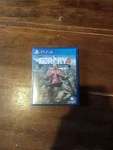 kaset PS4 far cry 4 second mulus (Nego tipis)