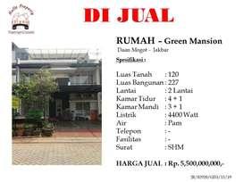 Green Mansion - Dijual Rumah & Apartemen Murah di ...