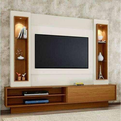 Rak Tv Modern Minimalis Backdrop Ruang Keluarga Mebel