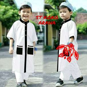 set koko arkha kids 3 warna