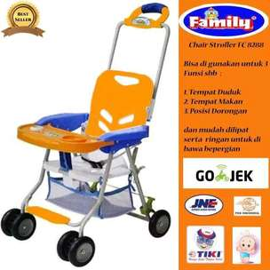 chair stroller family murah