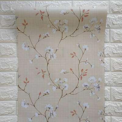 Wallpaper Dinding Motif Bunga Sakura Dekorasi Rumah 790184469
