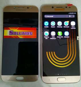 lcd+touchscreen Samsung J730 / J7 Pro Ori Oled Gold #SOLUTION