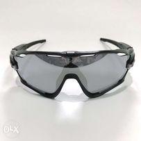 b4ab067c49 AUTHENTIC Oakley Sunglasses Jawbreaker Polished Black Chrome Iridium