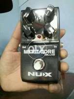 Nux Distortion pedal & MG 100 Processor for sale
