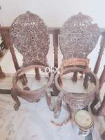 Pair of perha and pera chairs