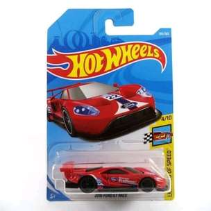 Hot Wheels 2016 Ford GT Race Red