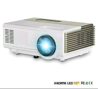 Mini led projector / proyektor Tj600D 1500 Lumens + TV tuner GARANSI