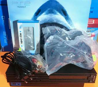 PS2 Fat seri 3/5 MATRIX Hdd internal/external fullset