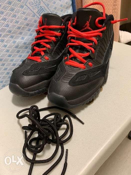 705298cb5ede Air Jordan 11 XI IE retro low BG GS Black Cat Referee Black True Red ...