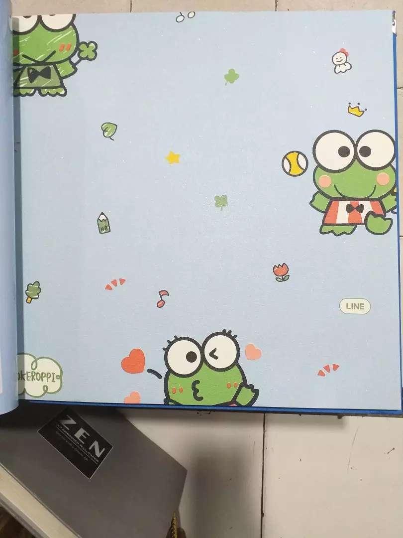 Wallpaper Dinding Gambar Keropi