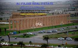 Bahria town 250 Sq YARD unballoted plots in karachi for sell
