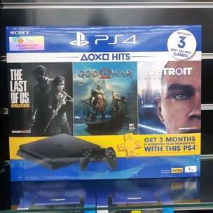 PROMO CASHBACK 1JT PS4 Hits Bundle Bonus 4 disk game + 1 Downloaded
