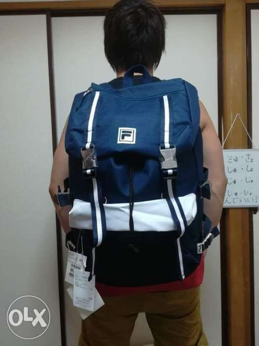 Fila FM 2024 Backpack Bag Rucksack Bag Travel Bag Unisex Bag Japan ... 0b08f897b1b4e