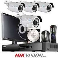 HIKVision 4 CCTV best price package with one year warranty