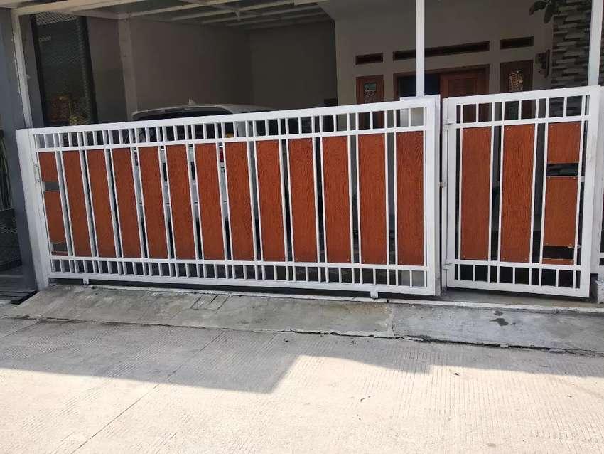 Pagar Minimalis Papan Wodplank Serat Kayu - Konstruksi Dan Taman - 766696009