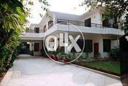 New Ground Portion At G-11*2 Beautiful House Huge Green Lawn water Bor