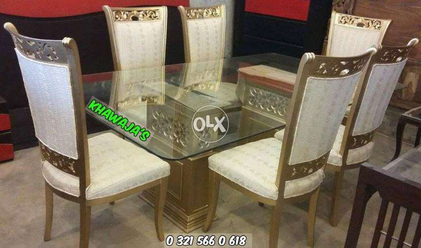 Brand New Dining Table With 6 Chairs Khawaja S Fix Price