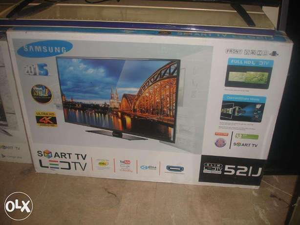 Vibrant Colours,Samsung^HDVision 52''Smart-Android Led's Rs.52,000/.