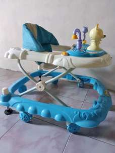 Baby walker sea blue