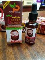 Pure Herbal Beard Oil For Men [ Grows Beard Faster and Smooths hairs ]