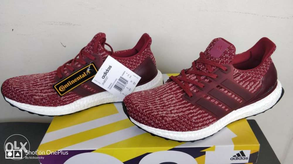 promo code d31f2 5b721 ... Adidas Ultra Boost v3 Burgundy size 8 point 5 US or 42 EUR ...