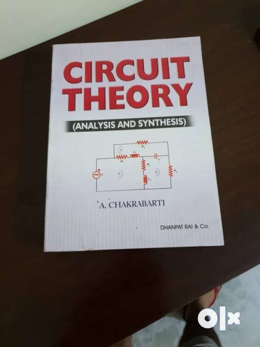 Circuit Theory Book By A Chakrabarti