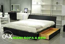 Awami bed with side tables model 381.