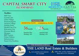 Capital smart city islamabad, 5 marla plot available installment plan