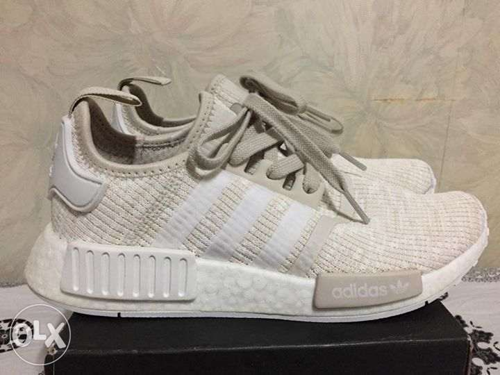 new arrival 6d08c eef69 Adidas NMD R1 Womens Cream White size 6.5