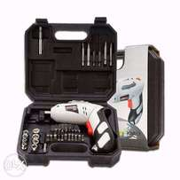 Professional Cordless Screwdriver with charger and bits Jumlee