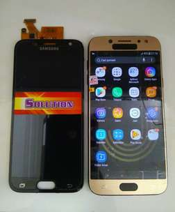 lcd+touchscreen Samsung J5 Pro / J530 Black & Gold #SOLUTION