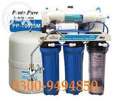 Mineral water filters/Reverse osmosis purifying