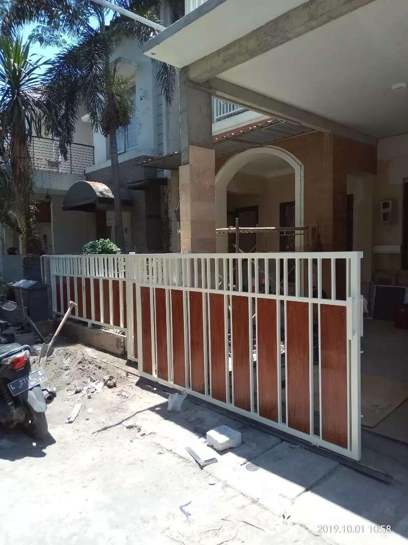 Pagar/gerbang Minimalis Dan Mederen - Konstruksi Dan Taman - 766070294