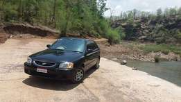 Hyundai Accent cng 88000 Kms 2009 year