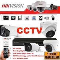 Fitting and installing cctv cameras