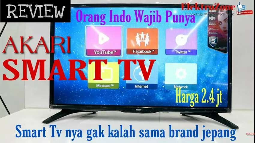 Pusat Grosir Tv Led Akari 32 Smart Tv Le 32v99sm Siaran Digital Tv Audio Video 788656495