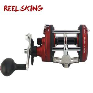 REELSKING JD500A Reel Pancing 12 Ball Bearing - Red