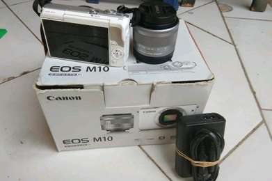 (Camera Canon Eos M10 Af-s 15-45mm)