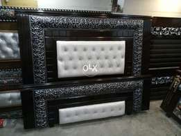 Double new king size bed latest design 0006588