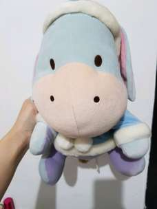 boneka eeyore winter original disney