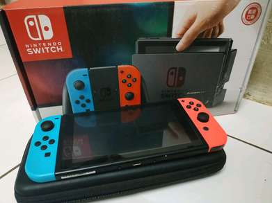 Nintendo Switch Gaming Console Red Blue
