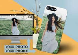 Customised photo back covers for samsung iphone oppo huawei Qmobile