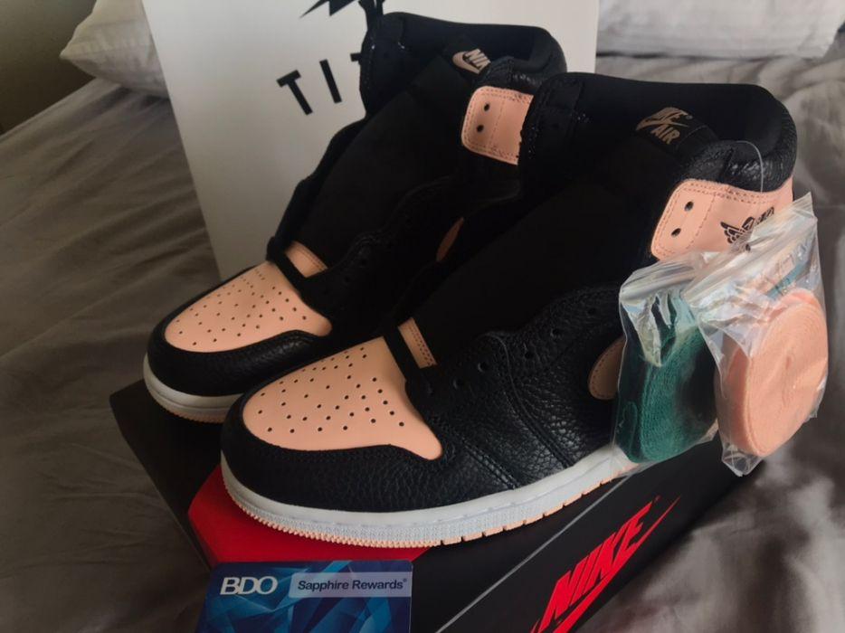 buy popular efaed 184a2 Nike Air Jordan 1 Retro High OG Crimson Tint Brand New Size US 9.5 ...