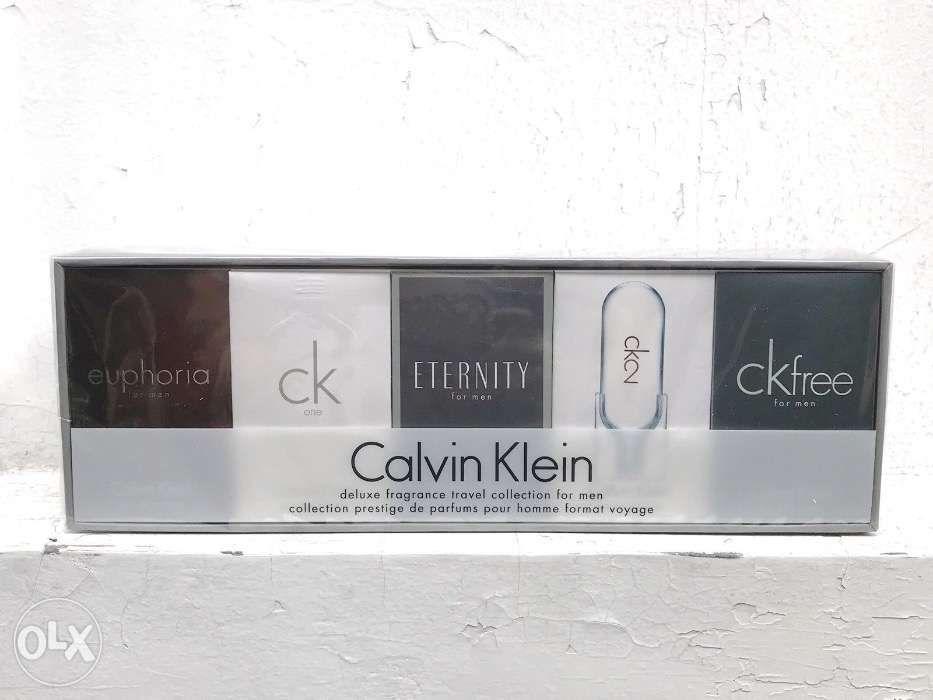 70ef64aeb2 AUTHENTIC NEW Calvin Klein Miniature Collection Perfume Gift Set Men ...
