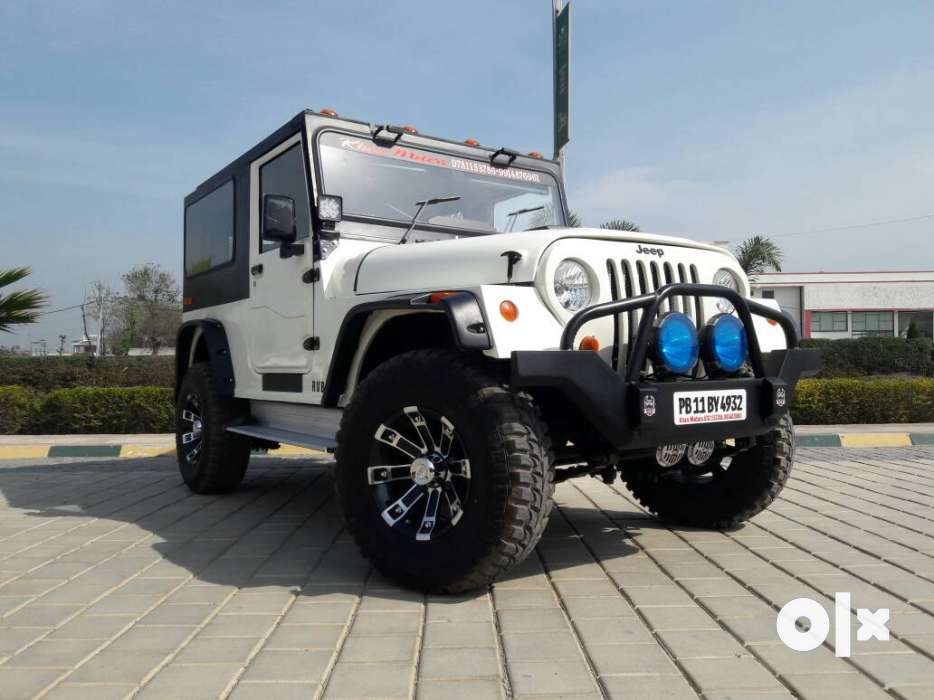 Mahindra new thar modified Punjab . Khan motors - Jammu - Cars ...
