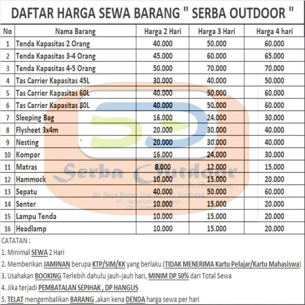 Camping Cari Jasa Terbaru Di Indonesia Olx Co Id