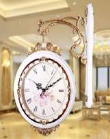 Double Sided Wall Clock New Model
