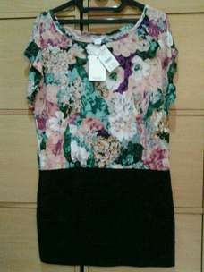 dijual mini dress cotton on size L ori